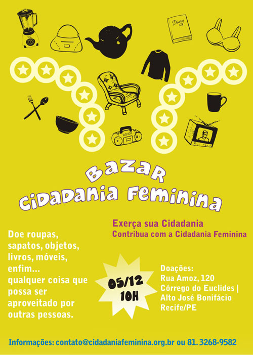 Bazar Cidadania Feminina